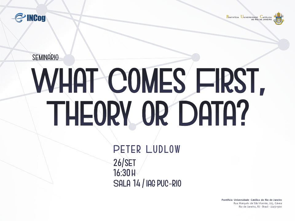 What Comes First, Theory or Data?